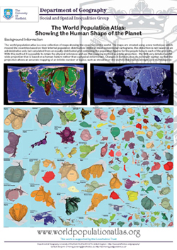 The World Population Atlas: Showing the Human Shape of the Planet