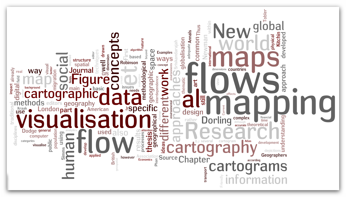 Geovisualisation of flows