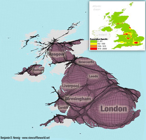 UK maps compared