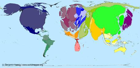 Copenhagen carbon maps views of the world carbon dioxide emissions 2006 gumiabroncs Images