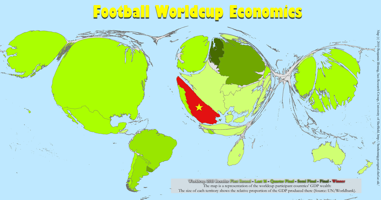 Worldcup economics views of the world click map for a larger view the previous map is of course missing out all other countries of the world gumiabroncs Image collections