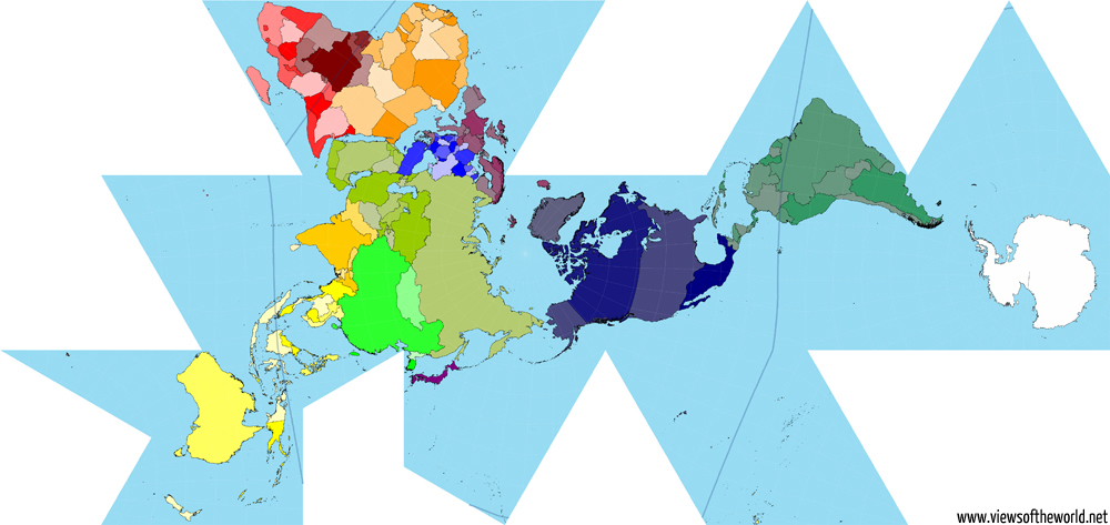 True Size Map Of The World.A Brief Look At Map Projections Views Of The World
