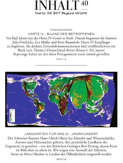 DIE ZEIT Magazin 40/2010 - Ben Hennig