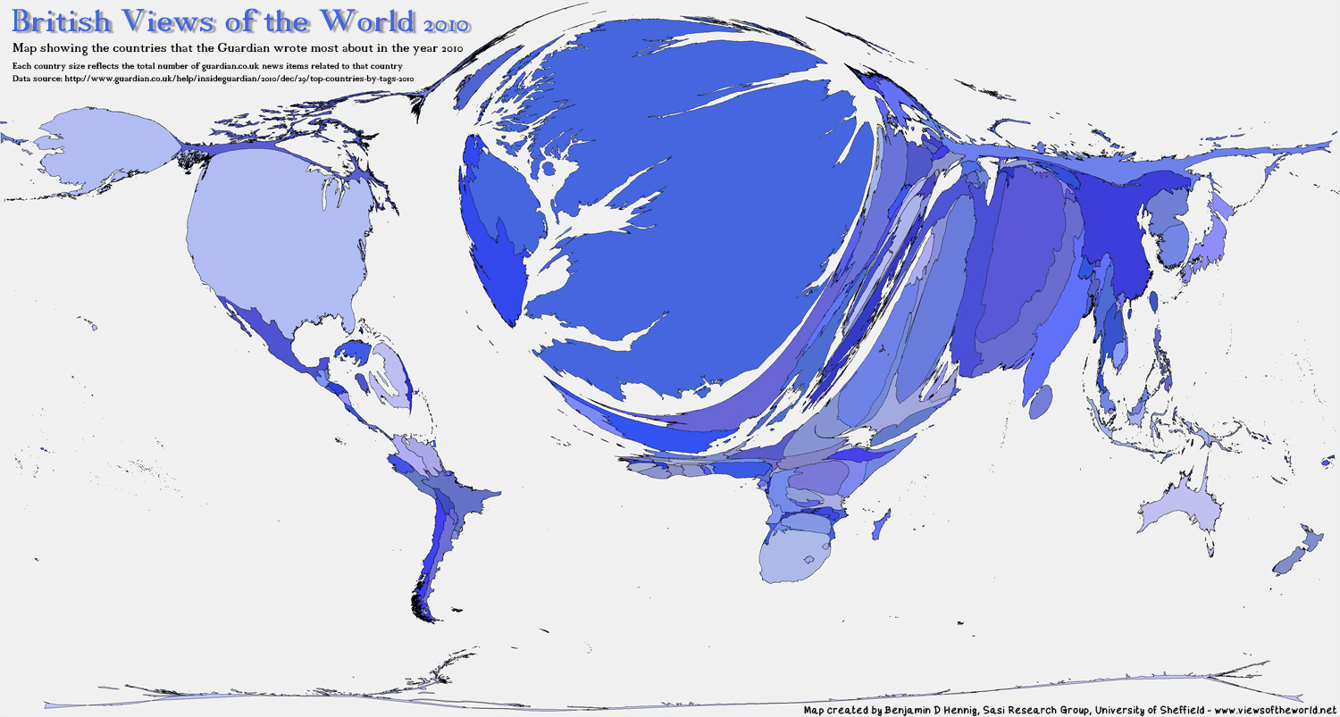 British views of the world 2010 views of the world click for larger map gumiabroncs