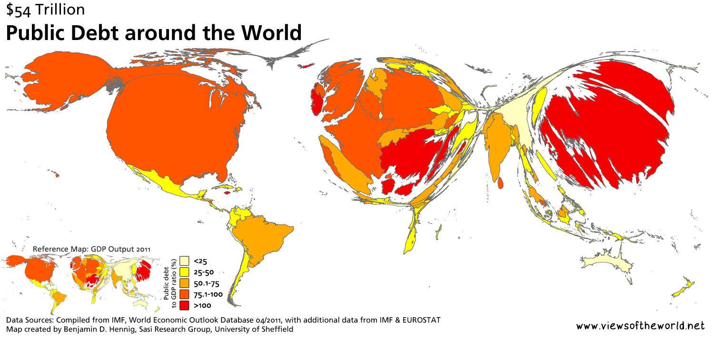 54 trillion debt views of the world 54 trillion debt gumiabroncs Choice Image
