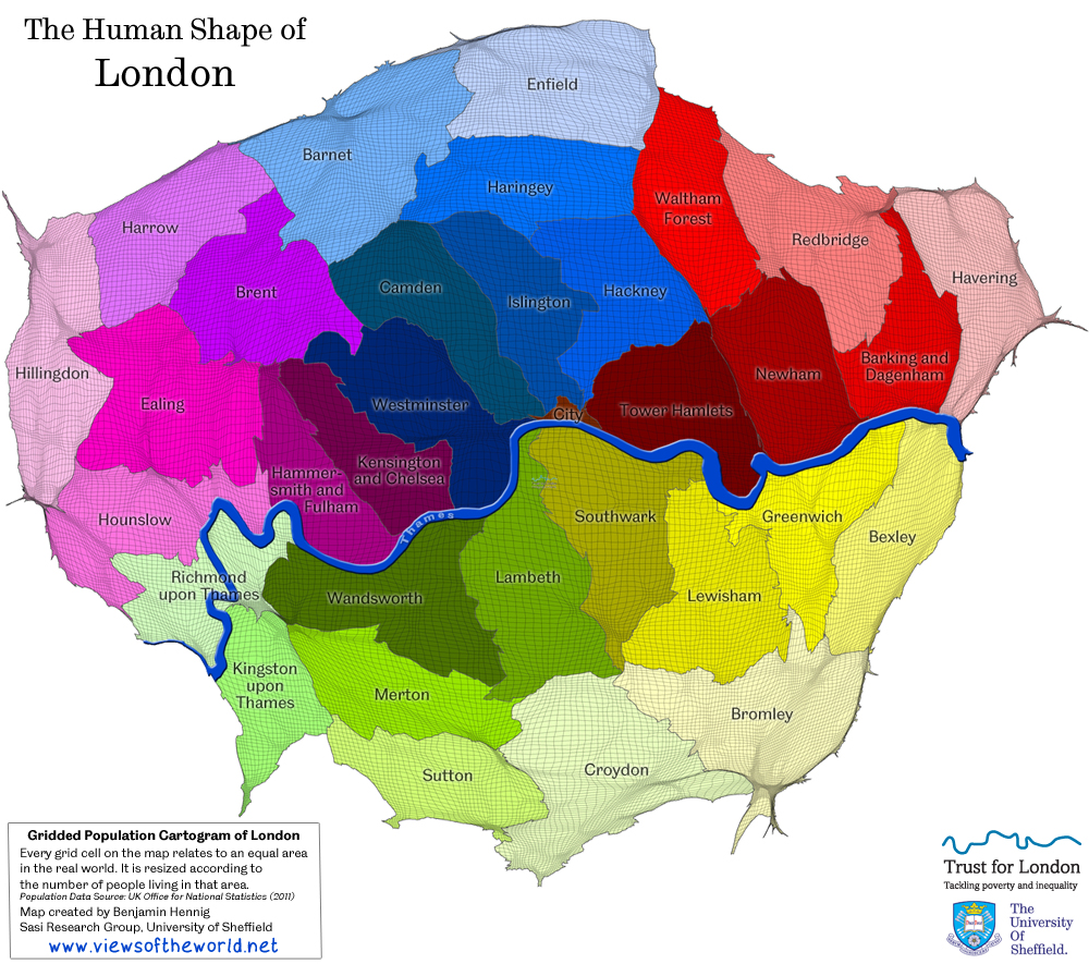 London in maps views of the world london in maps gumiabroncs Images