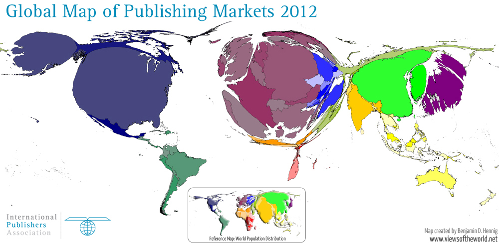 Global publishing markets views of the world global publishing markets gumiabroncs Image collections