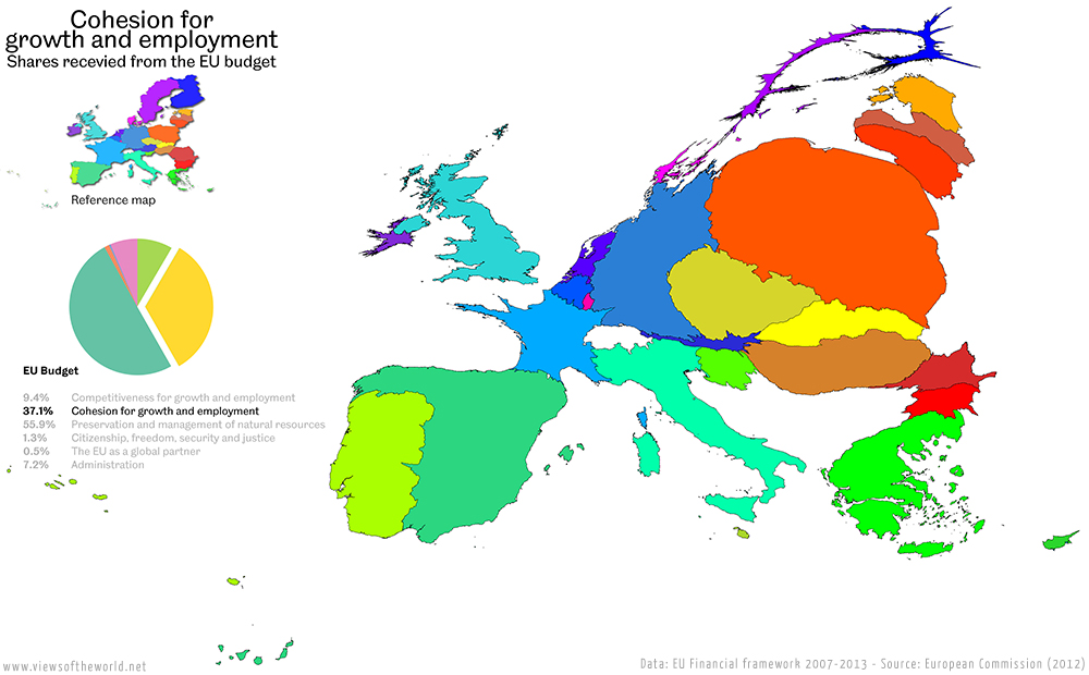 Visualising the EU Budget - Views of the World