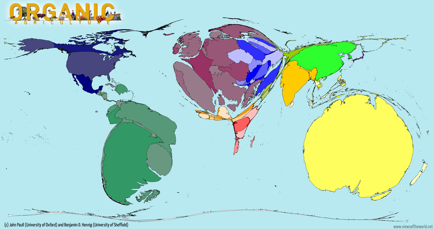 World Map of Organic Agriculture