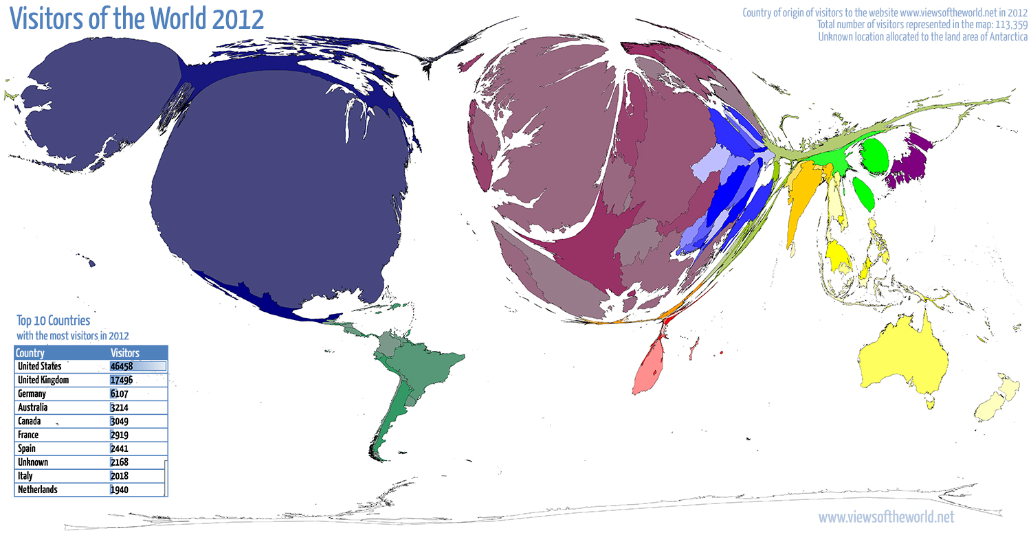 statistics archives views of the world