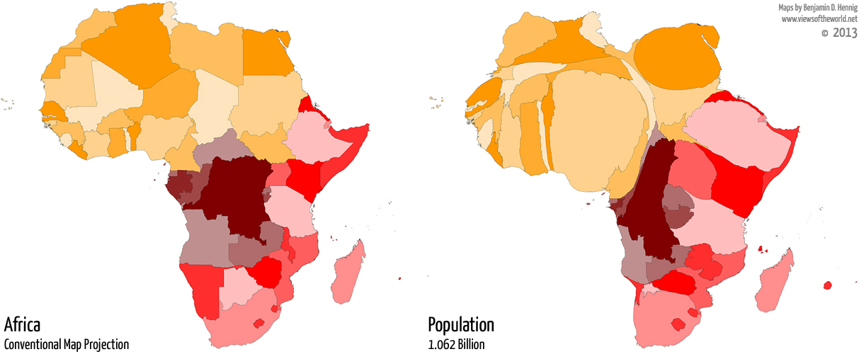 A Mapping Sequence For Malaria And Mosquito Nets In Africa Views