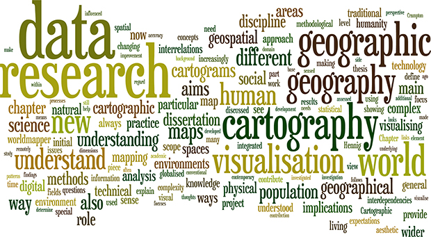 wordle data visualisation geographic visualization in social