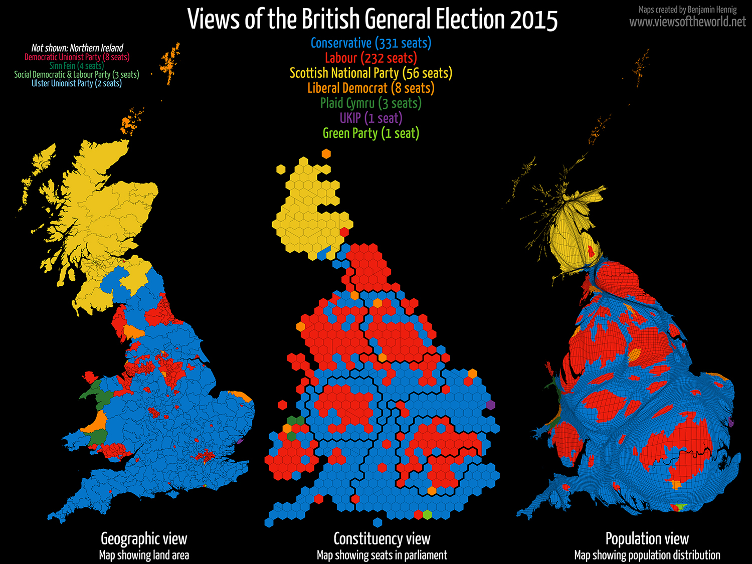 Political Map Of Uk.Views Of The 2015 Uk Election Views Of The World