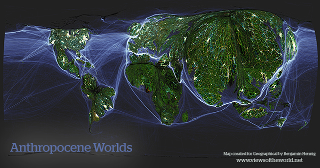 Human Worlds - A Map of the Anthropocene