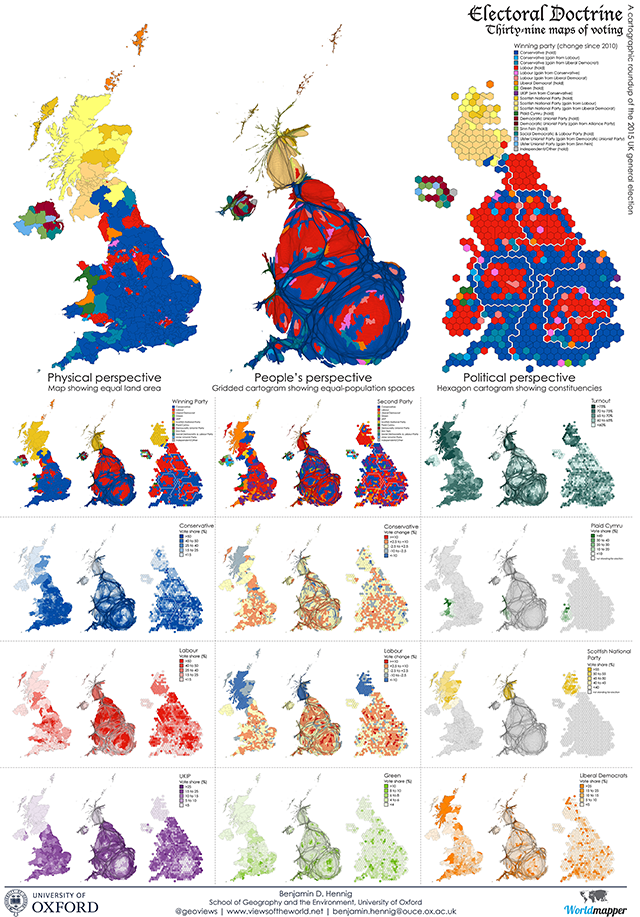 Poster: Electoral Doctrine - 39 Maps of Voting