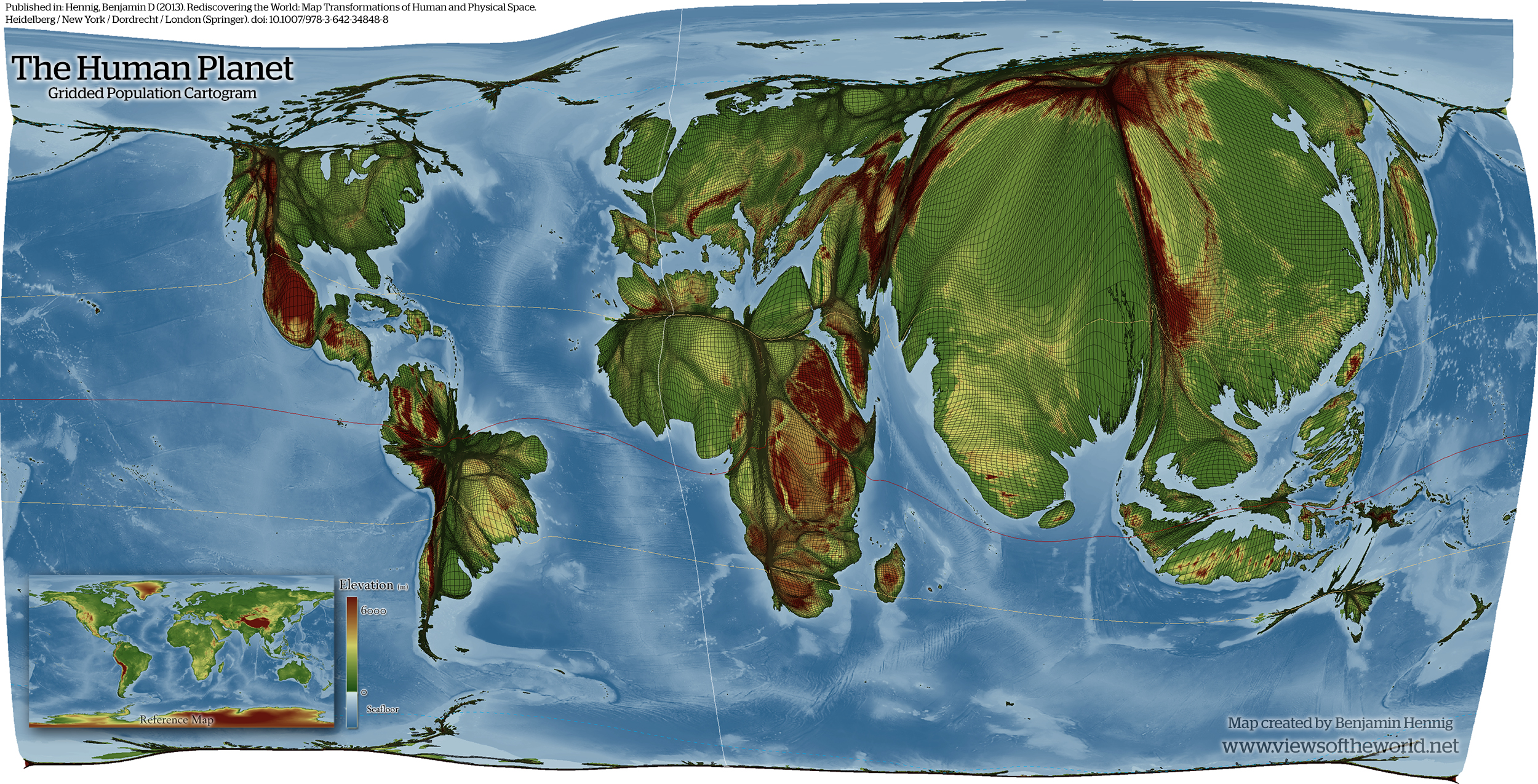 Mapping the Anthropocene Views of the World