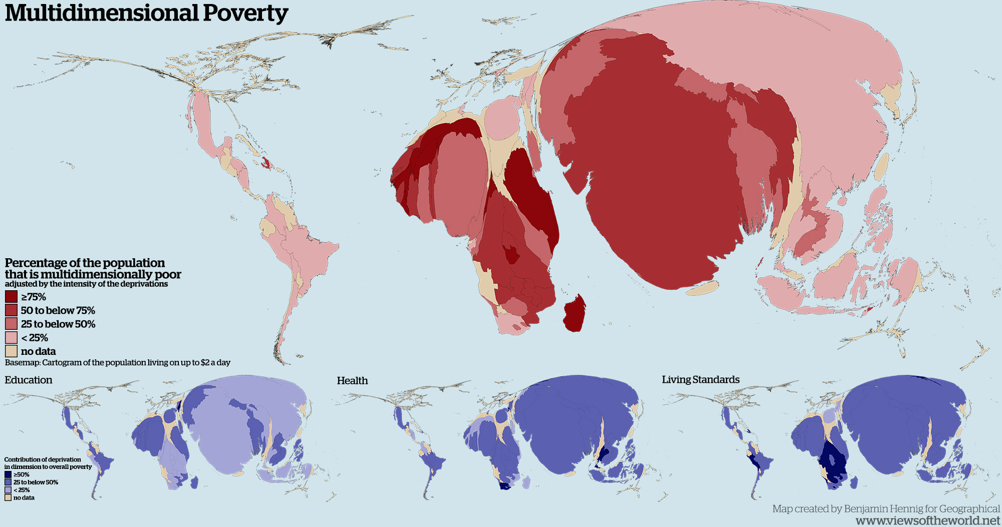 Poverty Archives Views Of The World - Us map of deep poverty