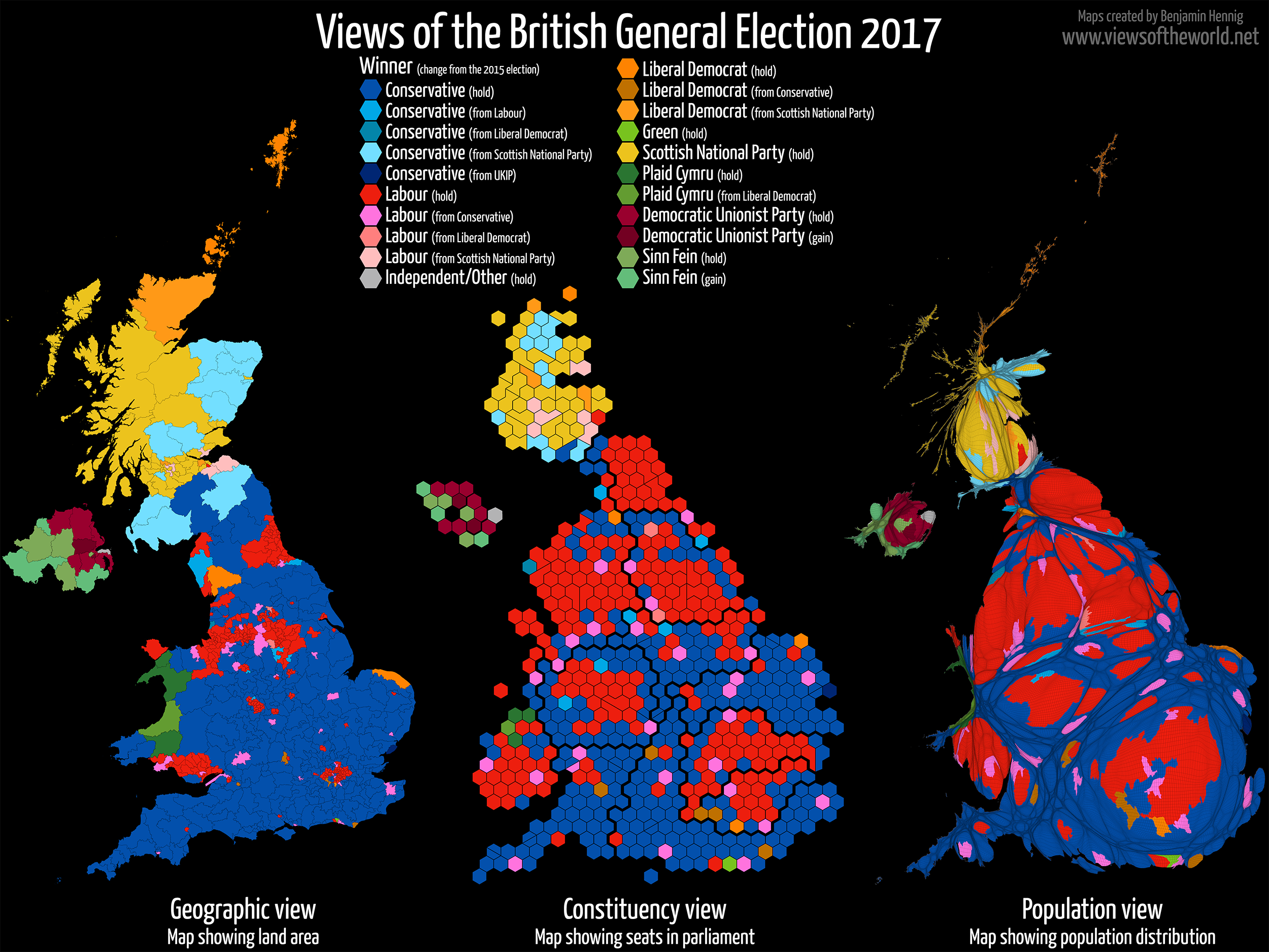 Britain Elects The Changes